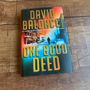 "David Balddacci NewYork best seller""one good deed"""
